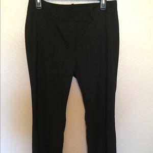 antonio melani Black Pinstripe Suit Pant